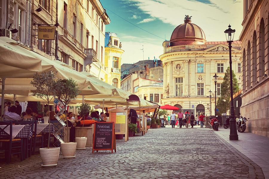 Старый город Бухарест