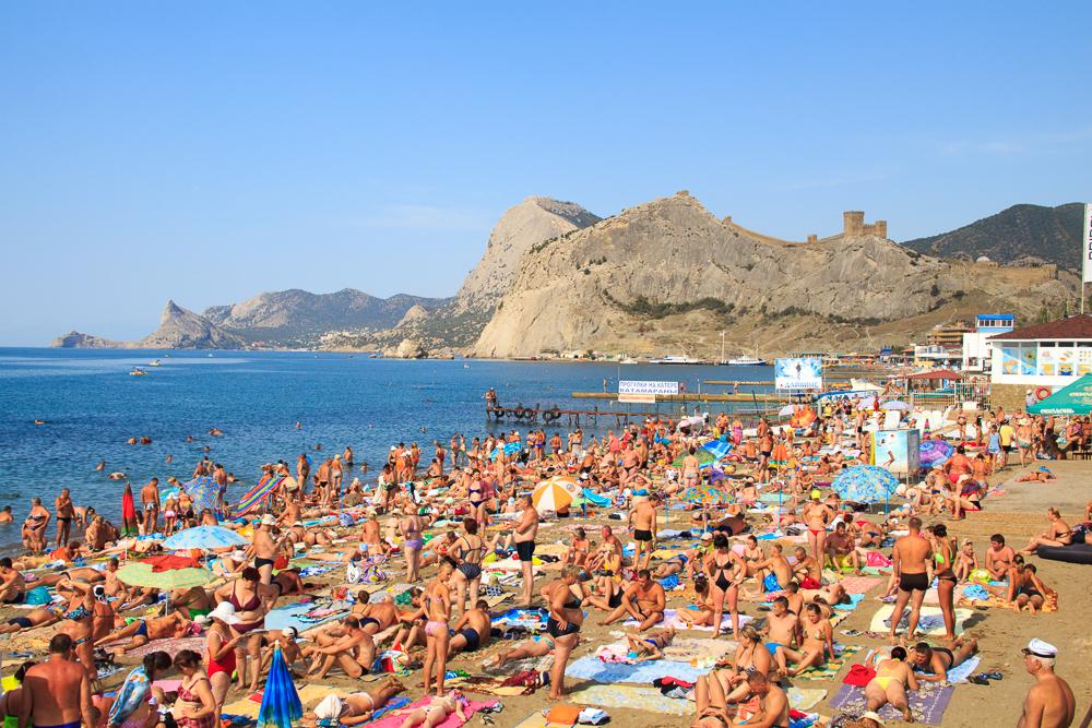 крым пляж
