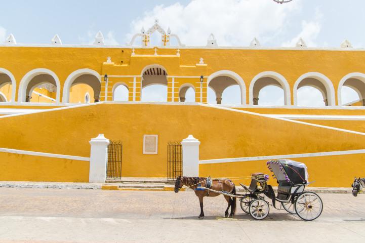 Исамаль, Мексика