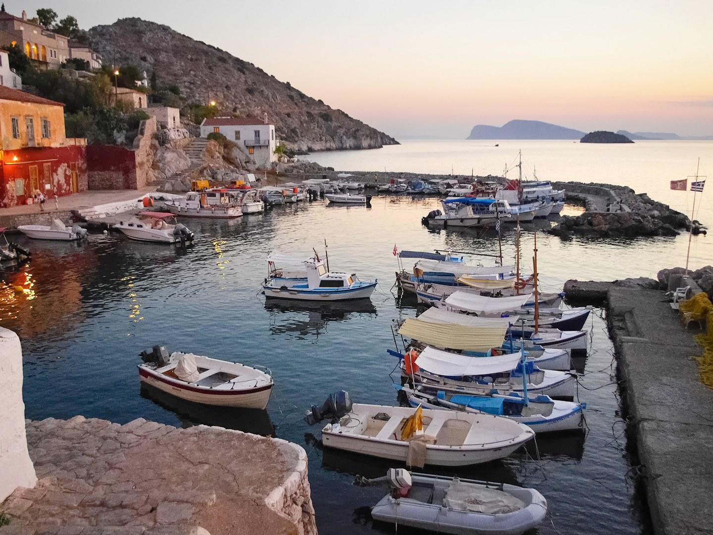 остров Греции Гидра
