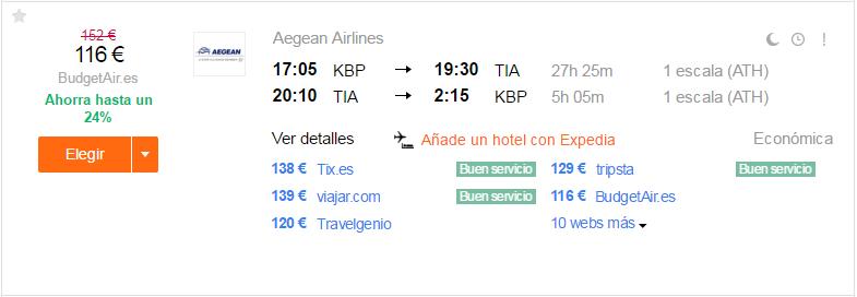 Kiev-Tirana