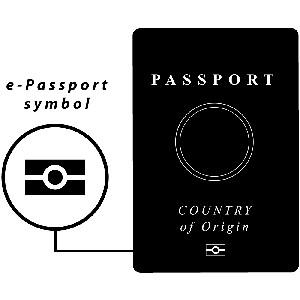 Электронный чип загранпаспорта