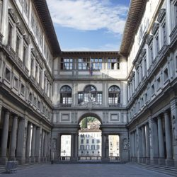 Галлерея Уфицы Флоренция