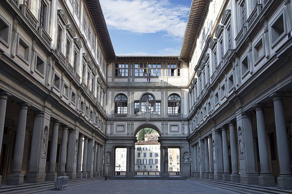 Галлерея Уфицы Флоренция - топ достопримечательностей Флоренции