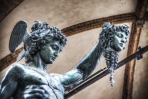 Статуи в Лоджия Ланци