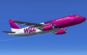 wizzair plane