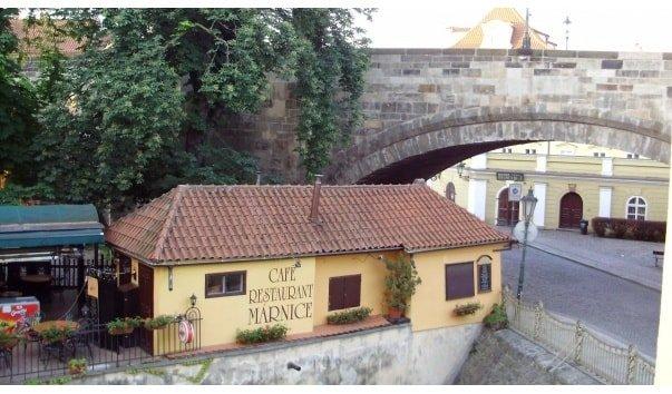 Кафе Карлов мост - достопримечательности Праги