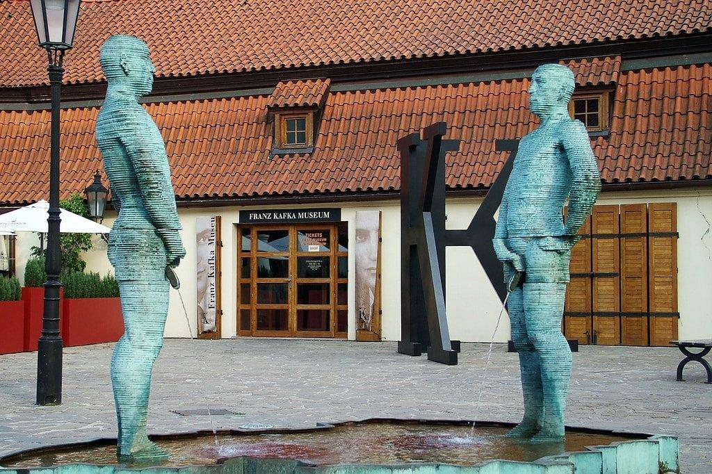 Музей Франца Кафки - достопримечательности Праги