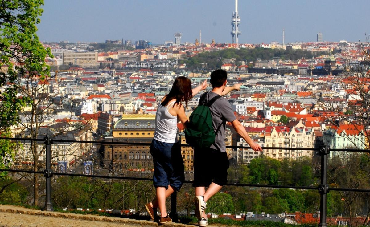 Холм Петрин Прага