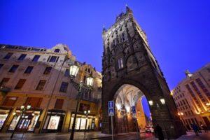 Пороховая башня Праги
