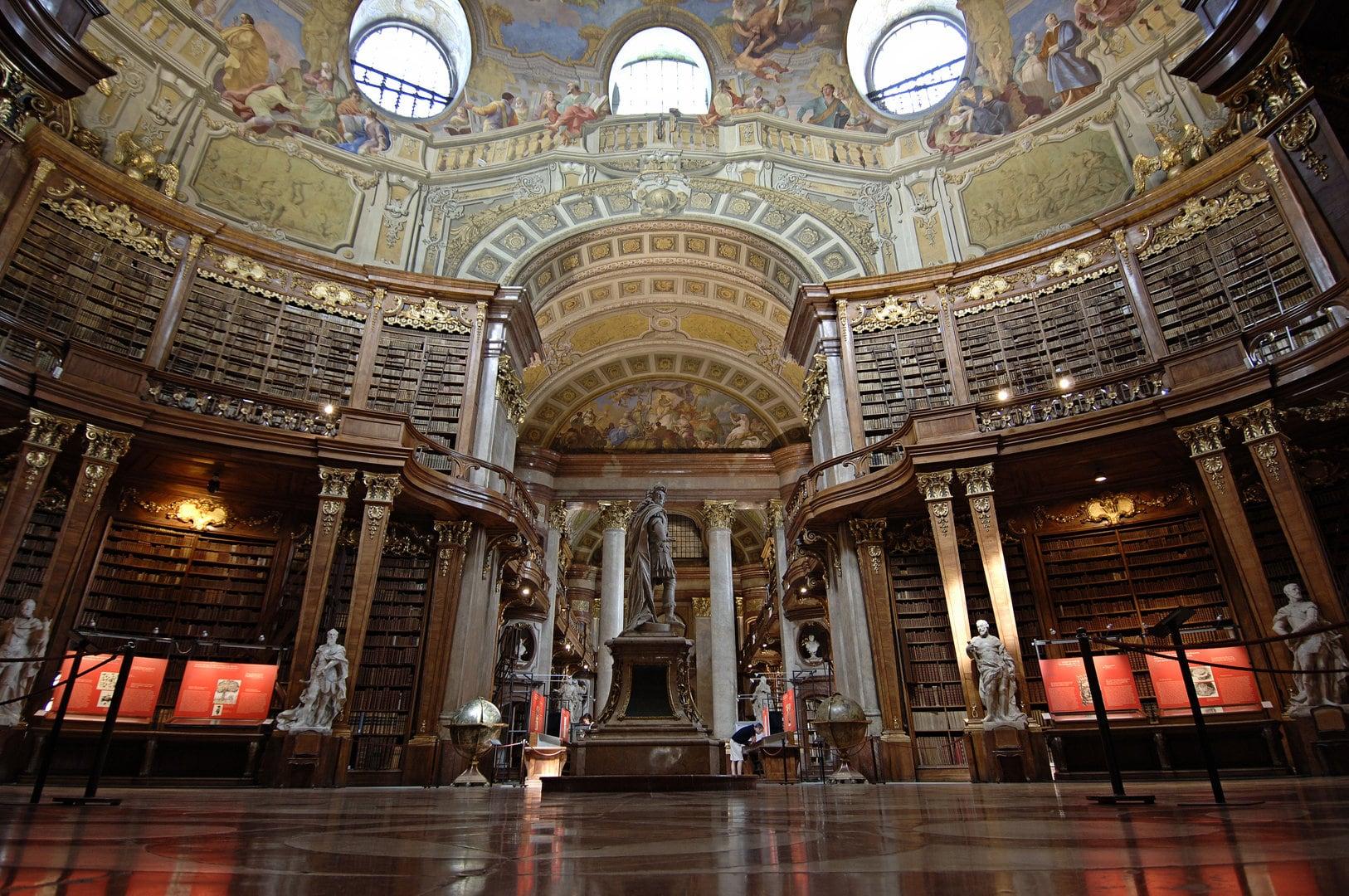 Австрия, Вена, Австрийская национальная библиотека