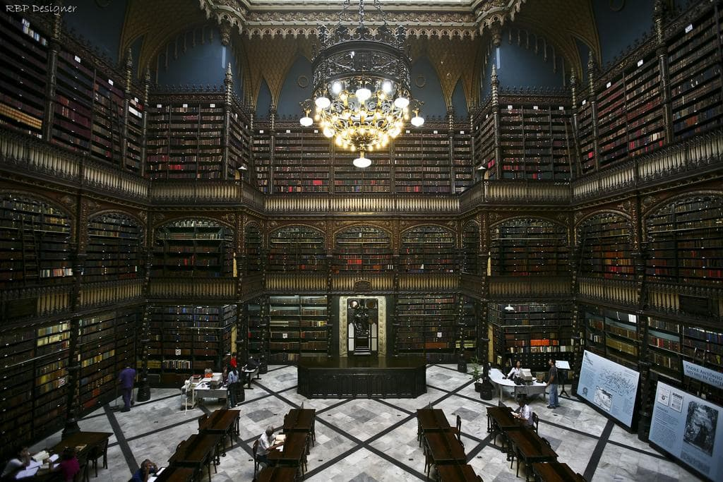 Бразилия, Рио-де-Жанейро, Real Gabinete Português de Leitura