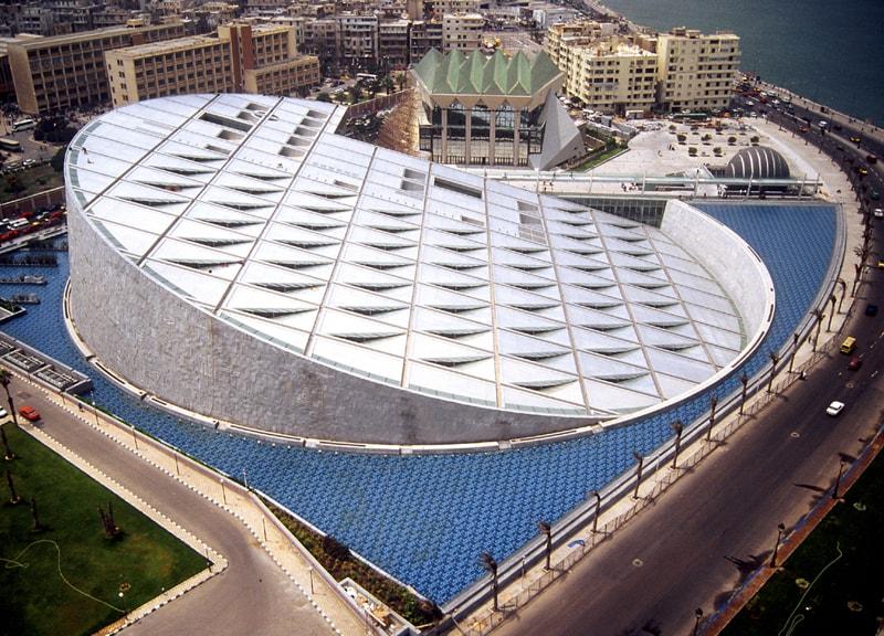 Египет, Александрия, Библиотека Александрина или Новая Александрийская библиотека 2
