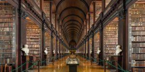 Ирландия, Дублин, Старая библиотека, Тринити-колледж
