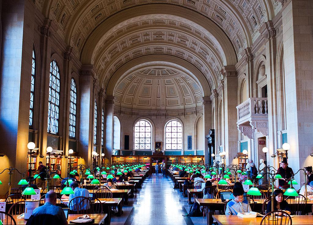 США, Бостон (Массачусетс), Бостонская публичная библиотека