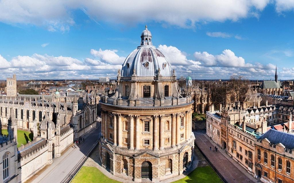 Великобритания, Оксфорд, Бодлеанская библиотека