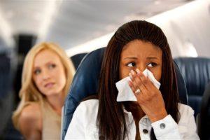 Как бороться с кашлем соседа по полету