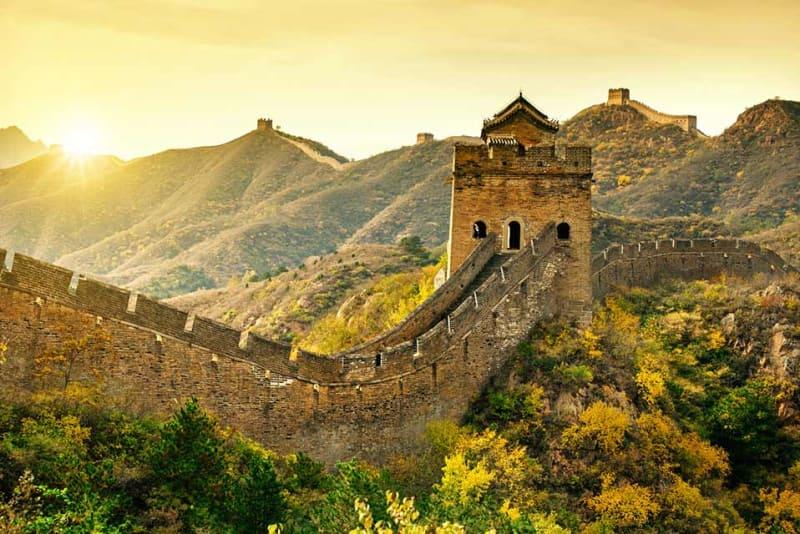 Великая китайская стена и Пекин, Китай
