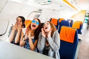 Этикет в самолете