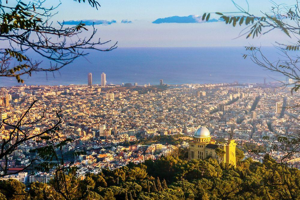 Самый большой городской парк Барселона