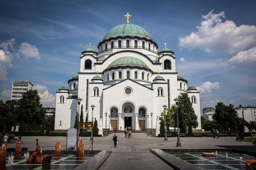 Собор Святого Саввы Белград 1