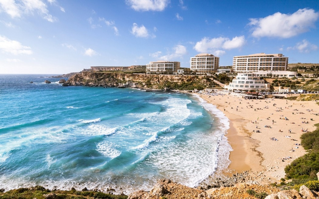 Золотой залив Мальта