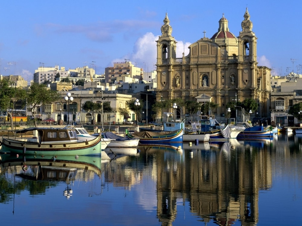 Мсида - маршрут по Мальте
