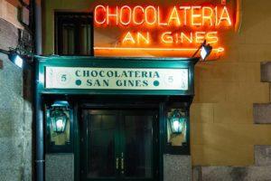 CHOCOLATERÍA SAN GINÉS, Мадрид