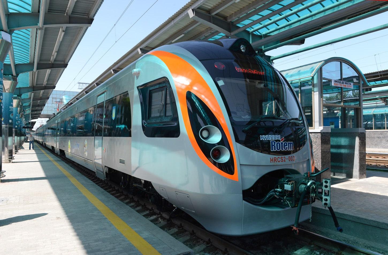 Международные поезда из Украины в Европу